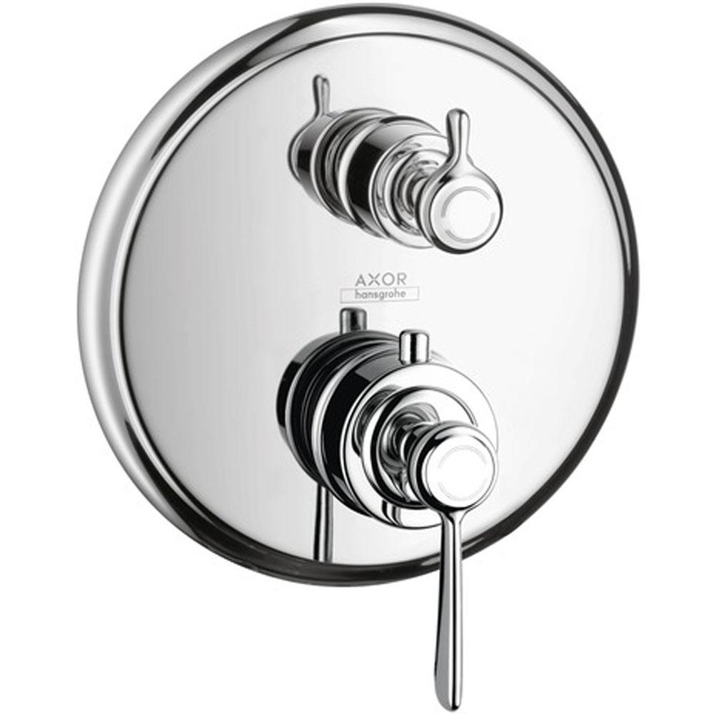 Axor AXOR Montreux Thermostatic Trim with Volume Control and Diverter in Chrome