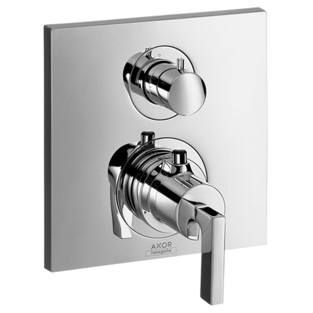 Axor AXOR Citterio Thermostatic Trim with Volume Control in Chrome