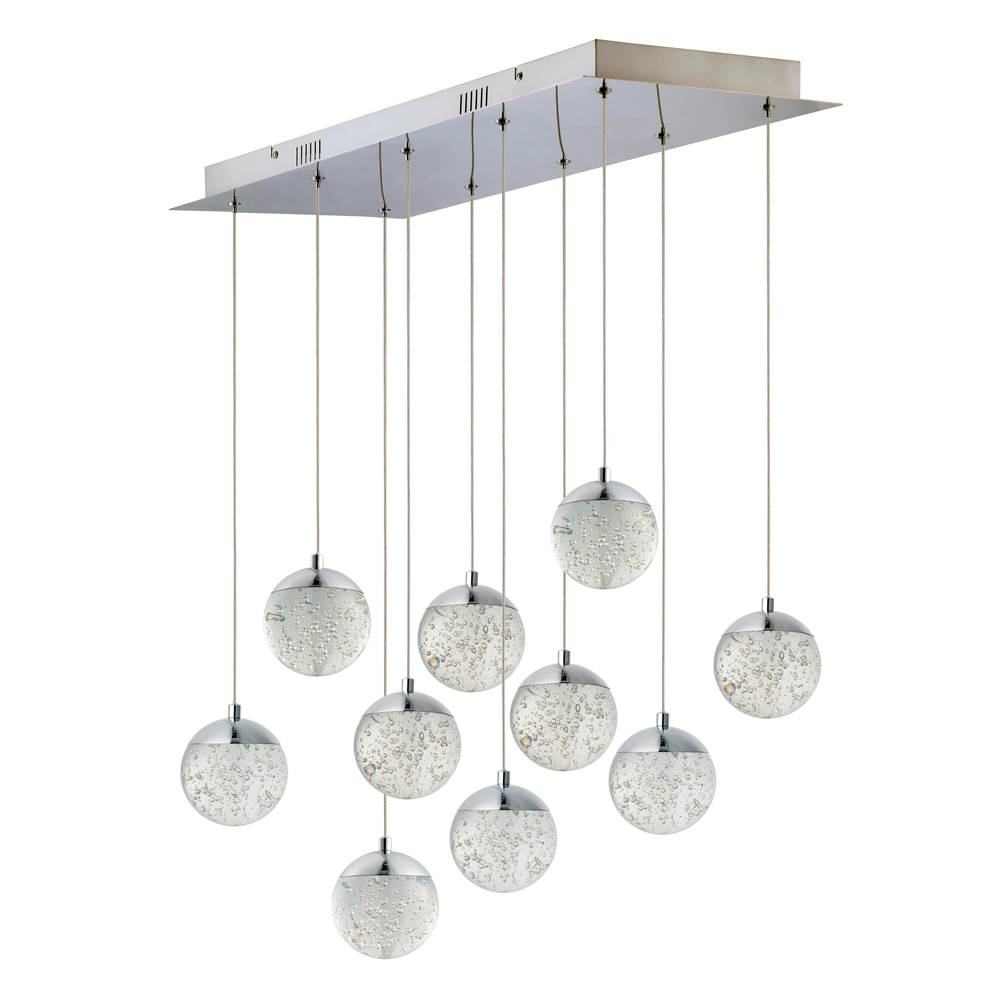 ET2 Orb II 10-Light LED Pendant
