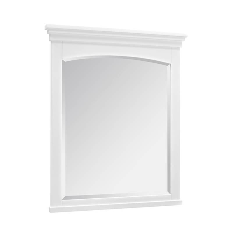 Fairmont Designs Shaker Americana 28'' Mirror In Polar White