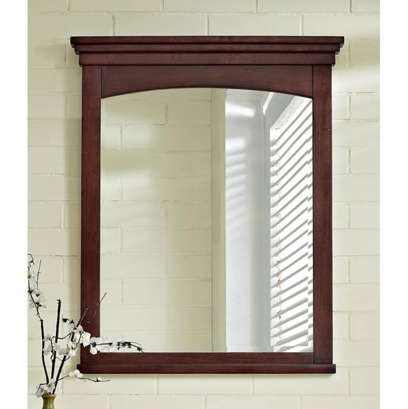 Fairmont Designs Shaker Americana 28'' Mirror In Habana Cherry