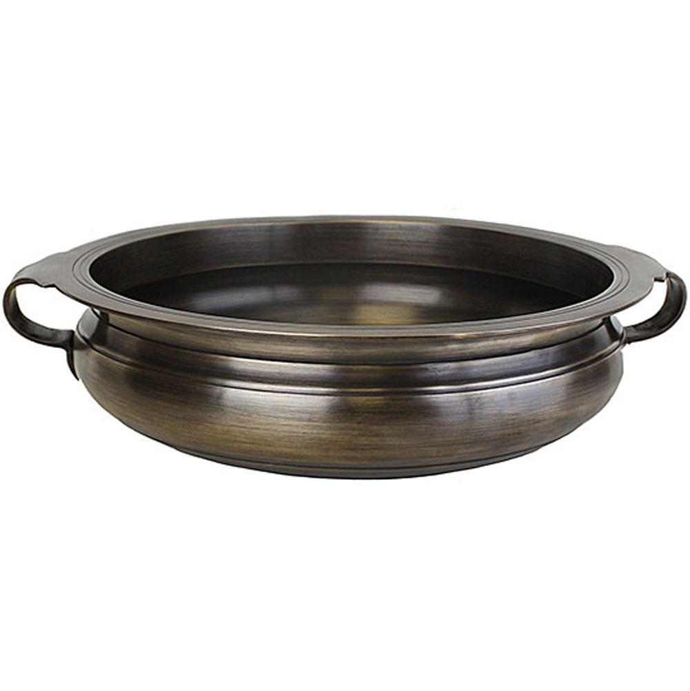 Linkasink Bronze Bowl with Handles