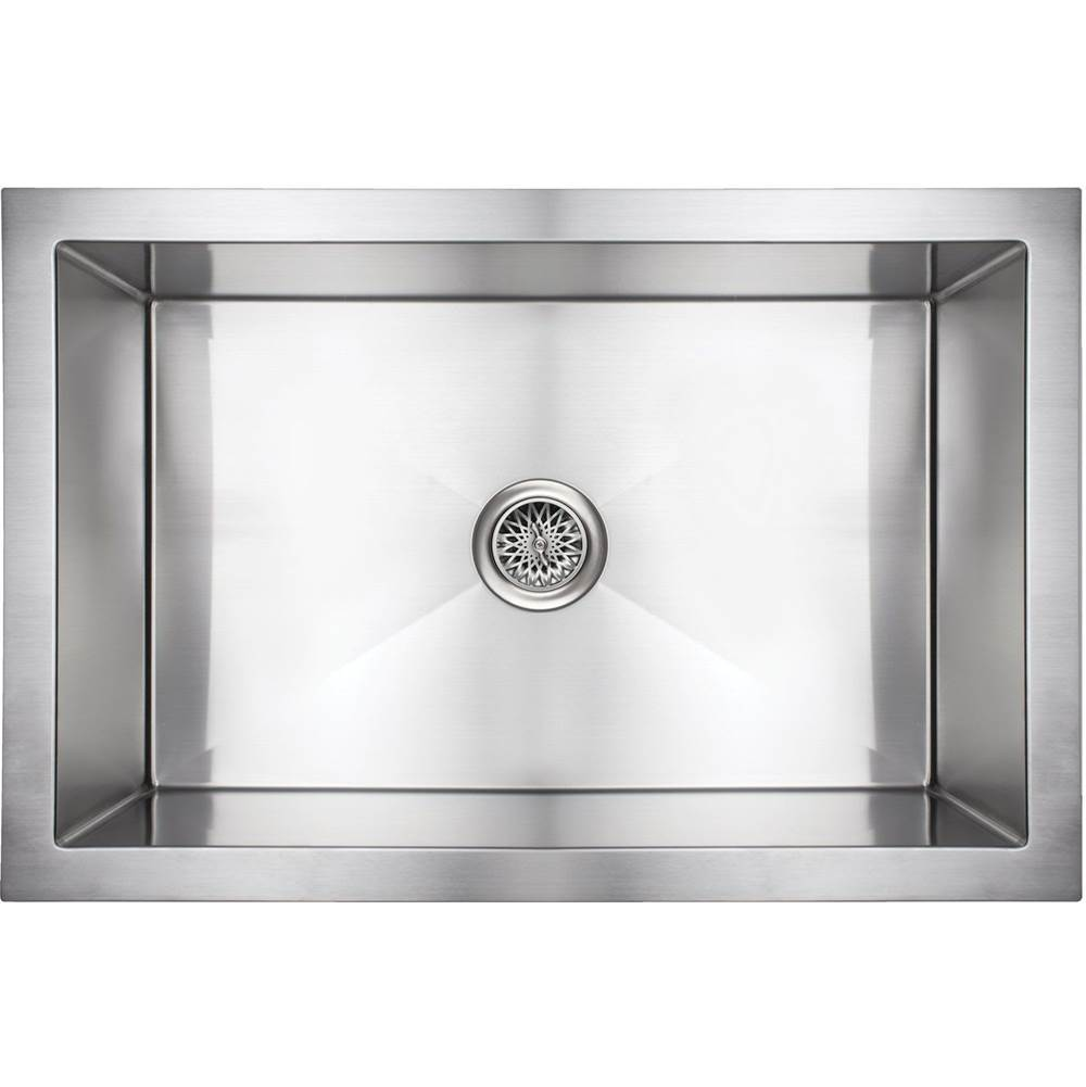 Linkasink Inset Apron Front Farm House Kitchen Sink - Undermount  (Price Does Not Include Panel)