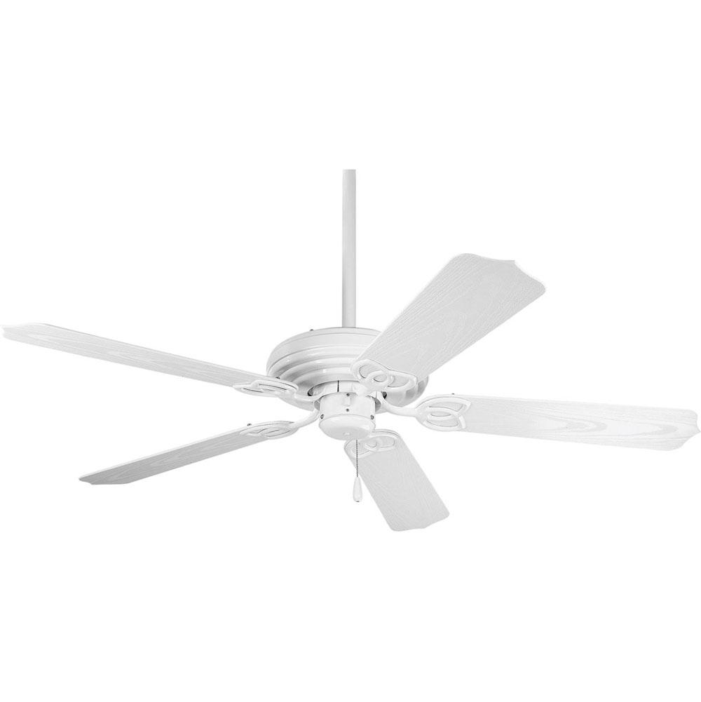 Progress Lighting AirPro Collection 52'' Five-Blade Indoor/Outdoor Ceiling Fan