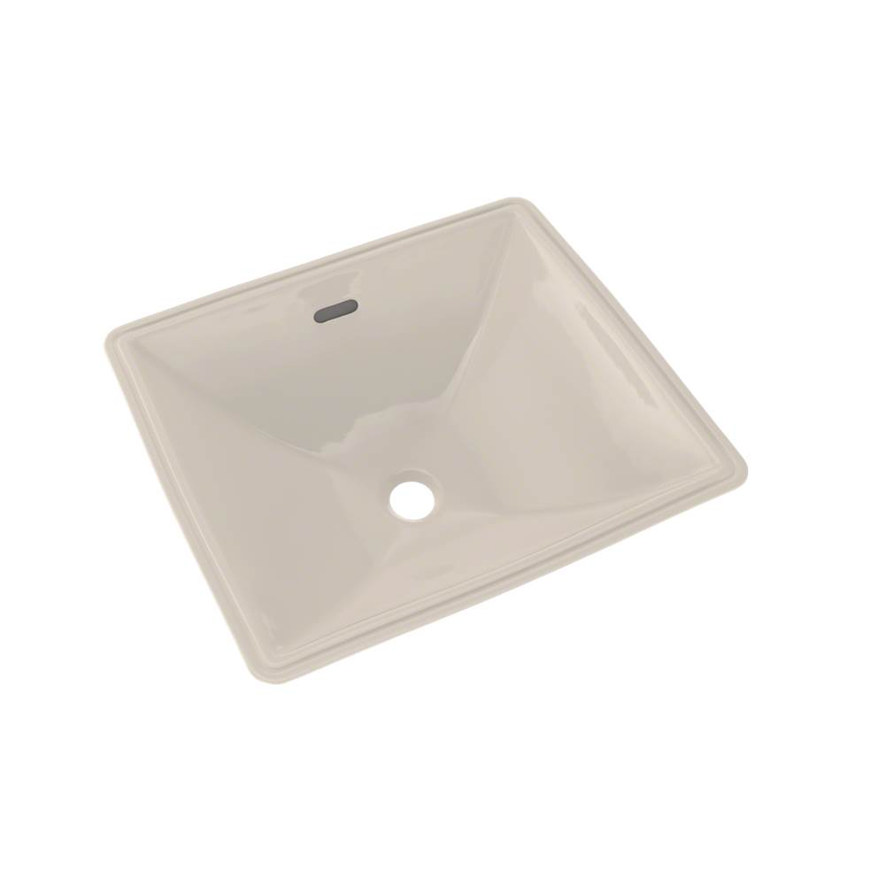 Toto Legato® Rectangular Undermount Bathroom Sink with CEFIONTECT, Sedona Beige