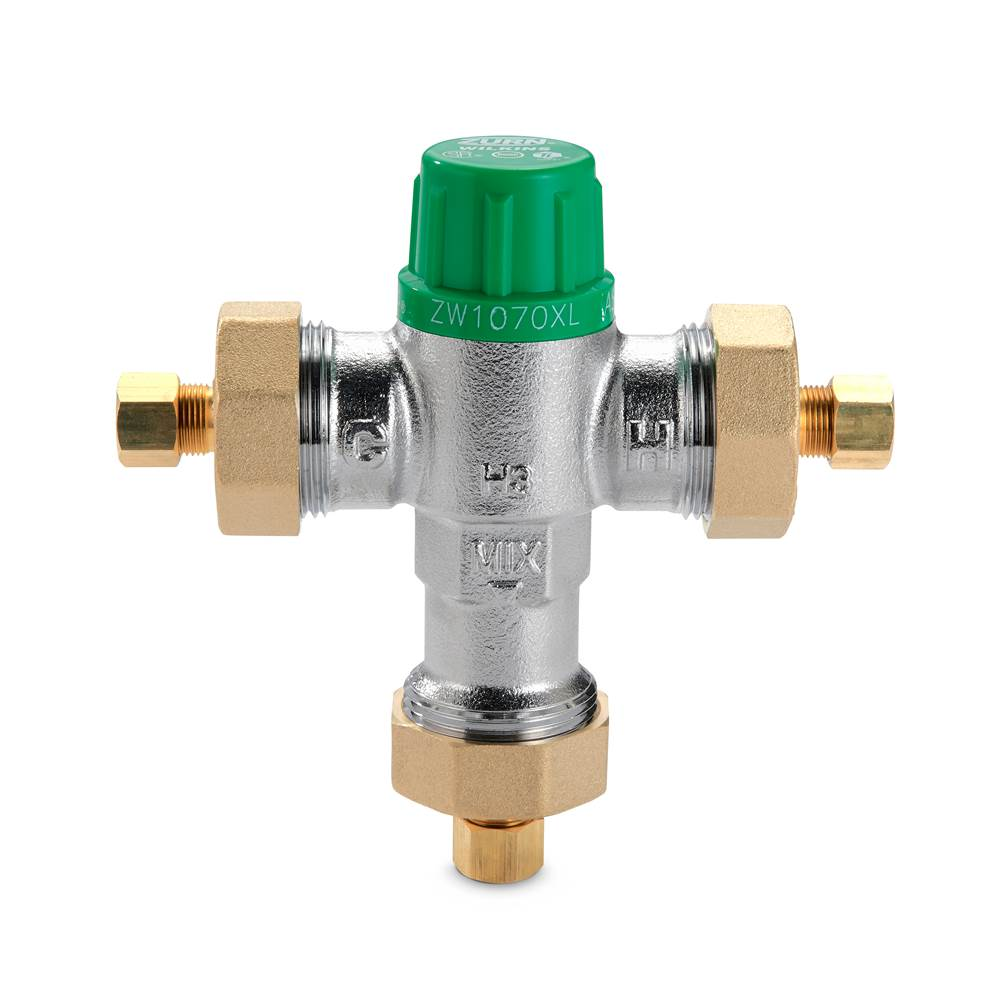 Zurn Industries 3/8'' ZW1070XLCOMP Aqua-Gard® Thermostatic Mixing Valve
