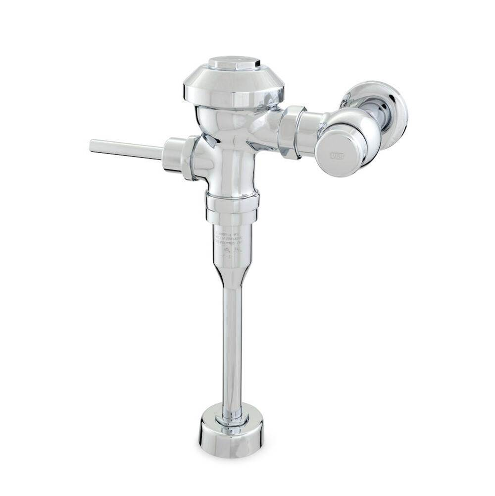 Zurn Industries Aquaflush® PL Plus Exposed Manual Flush Valve -0.5 gpf, Sweat Solder Kit, Stop Cap, Cast Wall Flange with Set Screw